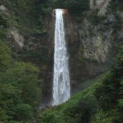 見応えのある滝