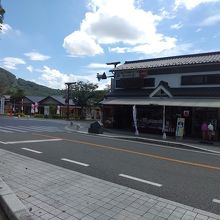 武田神社の目の前