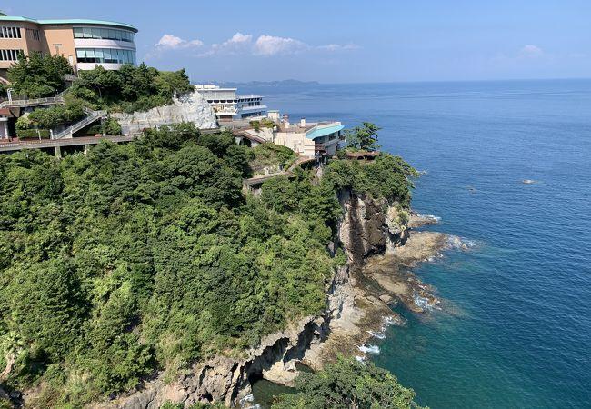 自然の景観を生かしたリゾート開発、すごい!の一言です