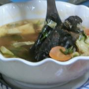 こうもりスープ