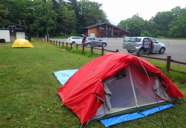 阿寒湖畔キャンプ場