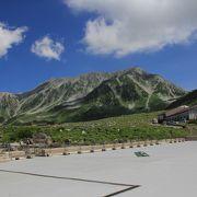 立山黒部アルペンルートの最高所