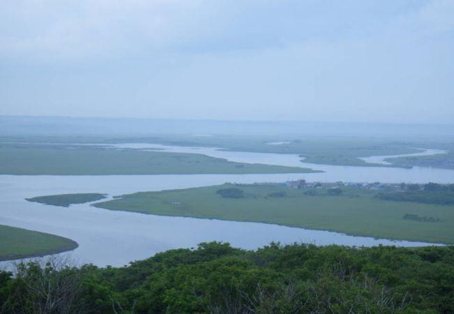 雄大な湿原の風景を楽しむことができました