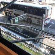 ほとんどのバスは出雲市街地止まり!