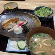 日本酒のお店の麹漬けお魚定食