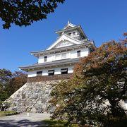 復元された長浜城を利用しています