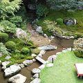 非常にきれいな庭園です。