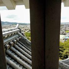 城から眺める街並み