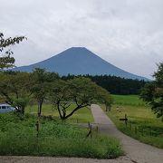 見えるとテンション上がる日本一の山