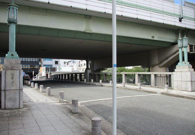 大坂城へつながる橋