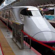 車両のバラエティに富んだ新幹線でした。