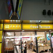 JR岡山駅の駅ビル内商店街
