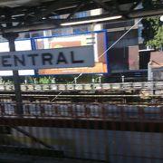 その名もシドニー中央駅!