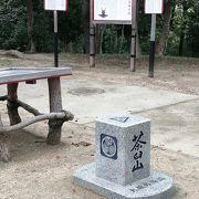 山頂には、いくつか真田幸村の案内表示があり、「大阪夏の陣」を思わせました