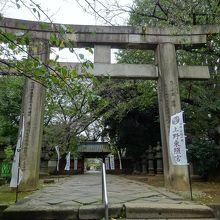 上野東照宮 大石鳥居
