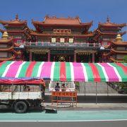 4階建ての立派な中国宮殿様式