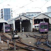 京都観光に欠かせない電車