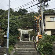 江ノ電の人気スポット、坂ノ下の御霊神社