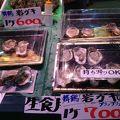 海鮮市場です