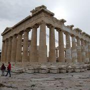 パルテノン神殿は神々しかった