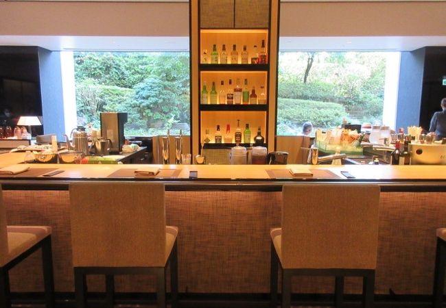 品川のさくらタワーの1階フロント奥の朝食レストラン。