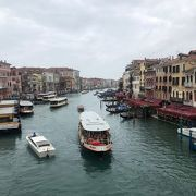 ここからの景色は、ベネチアそのもの!