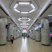 エアポートシャトルとの乗り換え駅です。