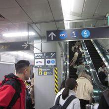 地下鉄ソウル駅