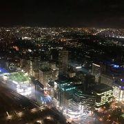 JRタワーからの札幌の眺め
