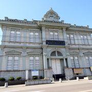 青森県初の銀行、旧五十九銀行の本店でした