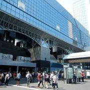 京都市における主要JR駅