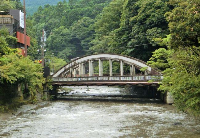 正月の箱根駅伝で良く見る橋ですね。