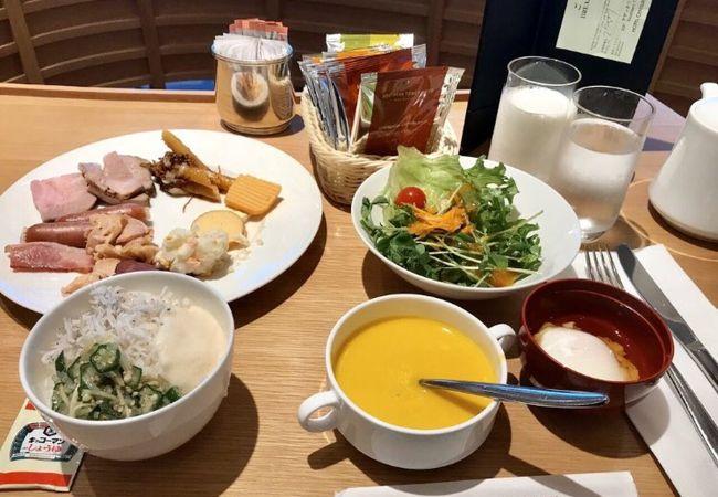 小田急ホテルの朝ごはん