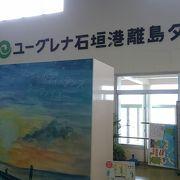 島々を結ぶフェリーのターミナル