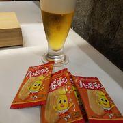 生ビールはキリンとモルツでした。