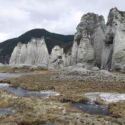 恐山と同じように浄土を思わせる景観の地