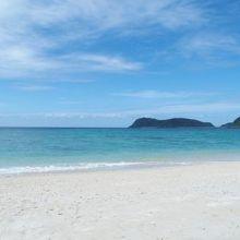 ものすごく美しいイダの浜。