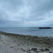 星砂がとれる浜