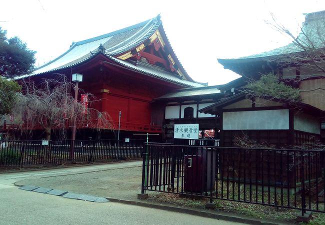 寛永寺清水観音堂