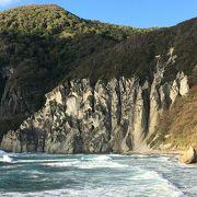 奇岩の景観