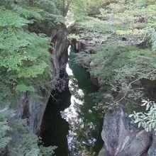 橋の上からではなく、下からの眺めも見てみたかった