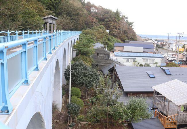 幻の大間鉄道アーチ橋「メモリアルロード」