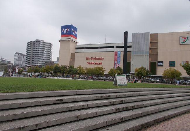 大きなショッピングモールです。
