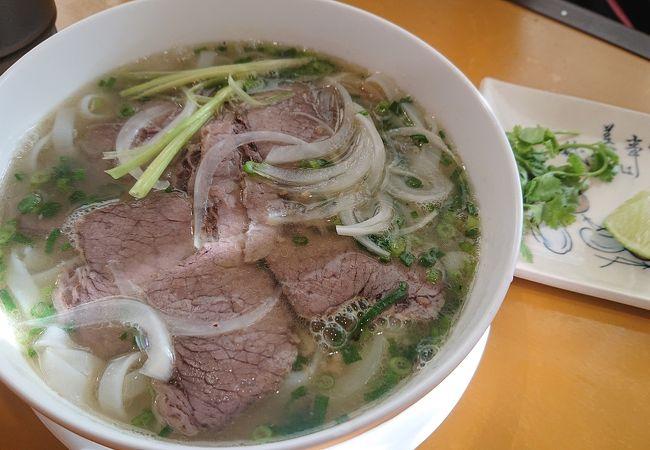 ハノイ仕込みのベトナム料理