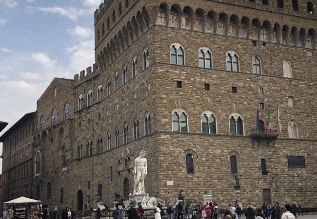 今でもフィレンツェの中心