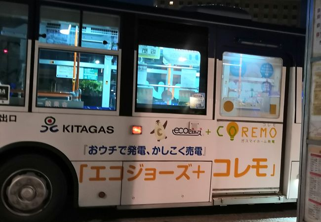函館バス 函館山登山バス