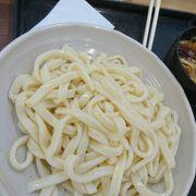 太めの武蔵野うどん食べてみました