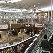 イオン、バスセンターありのショッピングモール