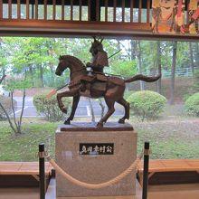 真田幸村の像