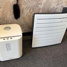 空気清浄器と加湿器